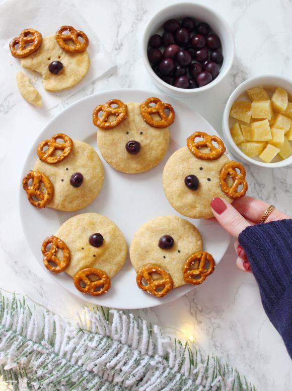 biscotti a forma di renna salati