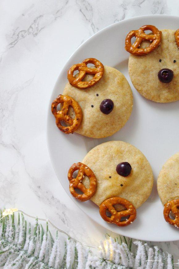 Biscotti Renna salati con formaggio