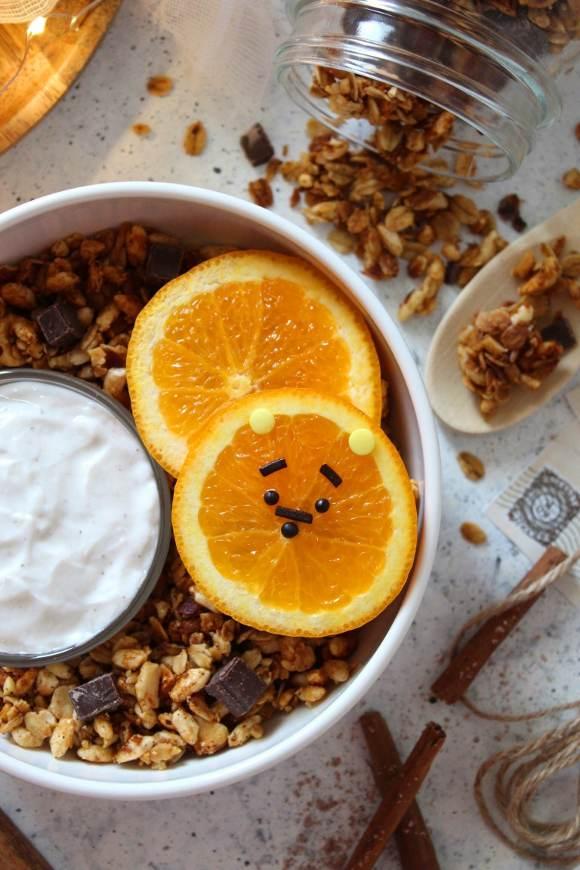 Granola con frutta secca e miele fatta in casa
