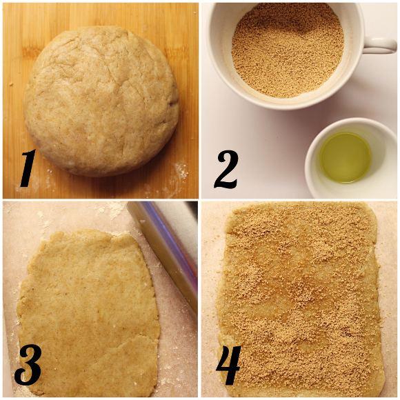 Cinnamon rolls Cereali alla cannella vegan homemade procedimento