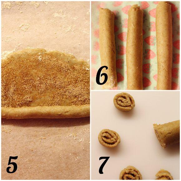 Cinnamon rolls Cereali alla cannella vegan preparazione