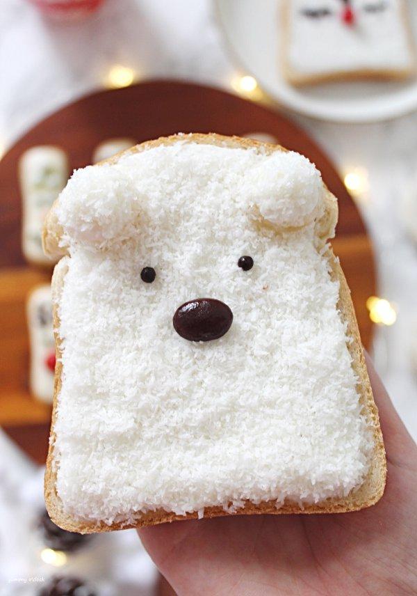 orso polare toast