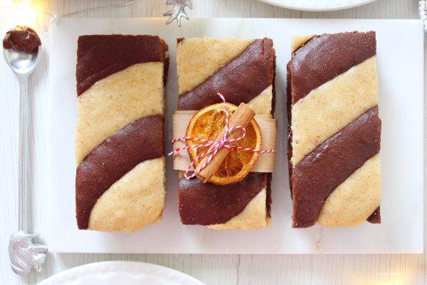 Merendine Vaniglia e Crema di nocciole con cannella e arancia