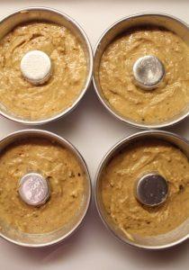 Ciambelle di Farro integrali con yogurt greco senza uova procedimento