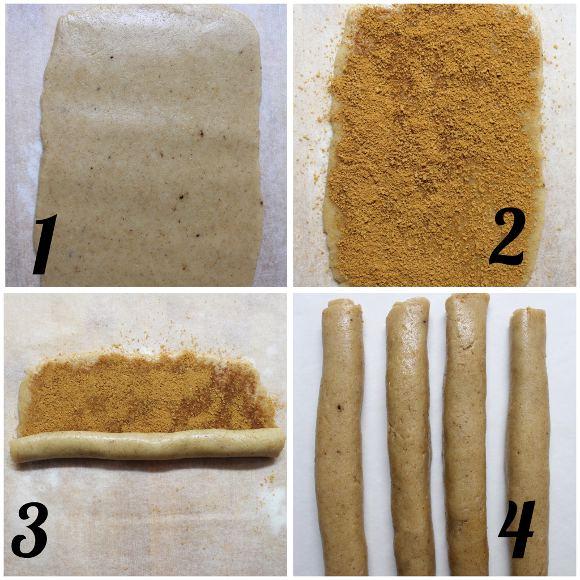 procedimento Cinnamon rolls Cereali alla cannella vegan homemade