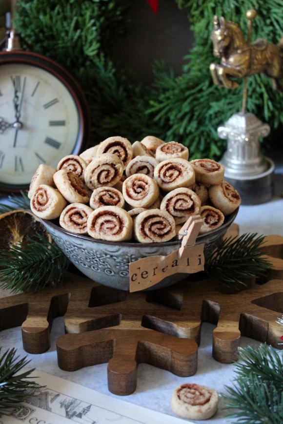Cinnamon rolls Cereali alla cannella