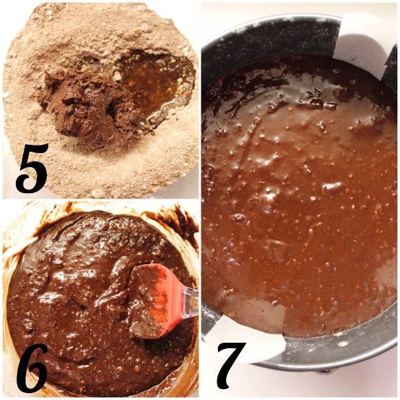Torta al cioccolato senza glutine preparazione
