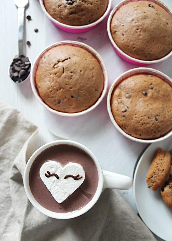 Tortini di farro al cioccolato simil merendine