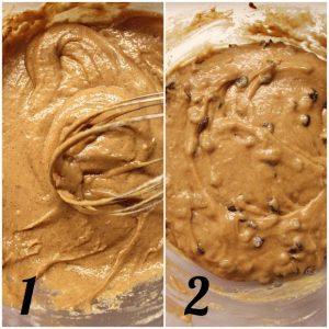 Tortini di farro al cioccolato simil merendine bio procedimento