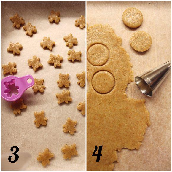 Cereali integrali orsetto con miele Teddy Grahams preparazione