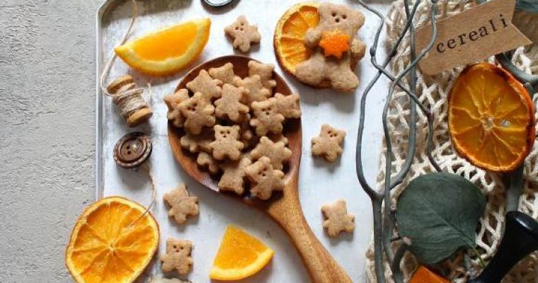 Cereali integrali orsetto con miele Teddy Grahams homemade
