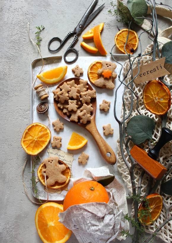 Cereali integrali orsetto con miele Teddy Grahams homemade
