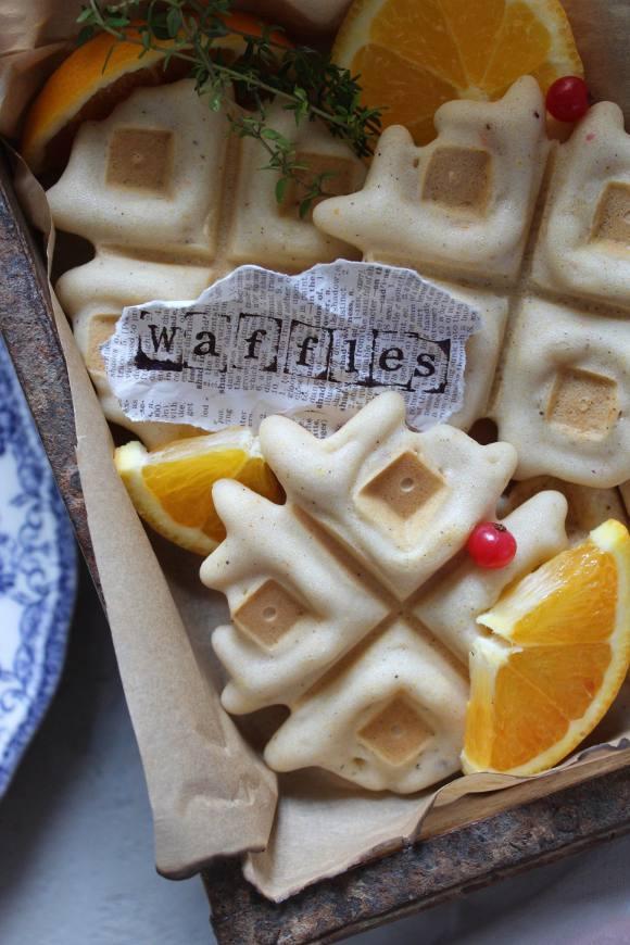 Mini Waffles senza glutine