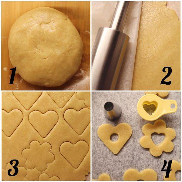 Biscotti simil Bucaneve love procedimento