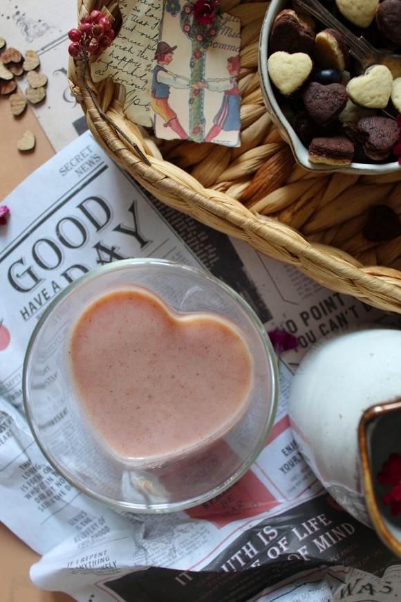 Cereali bigusto a forma di cuore vaniglia e cacao alla ricotta