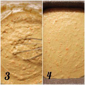 Merendine alle carote simil carrot cake senza uova senza burro impasto