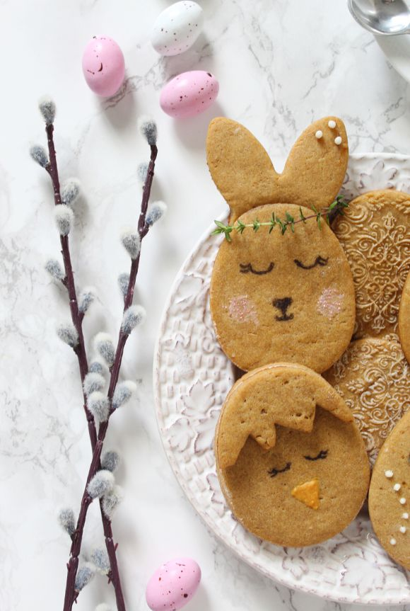 Biscotti uova di Pasqua senza uova senza burro