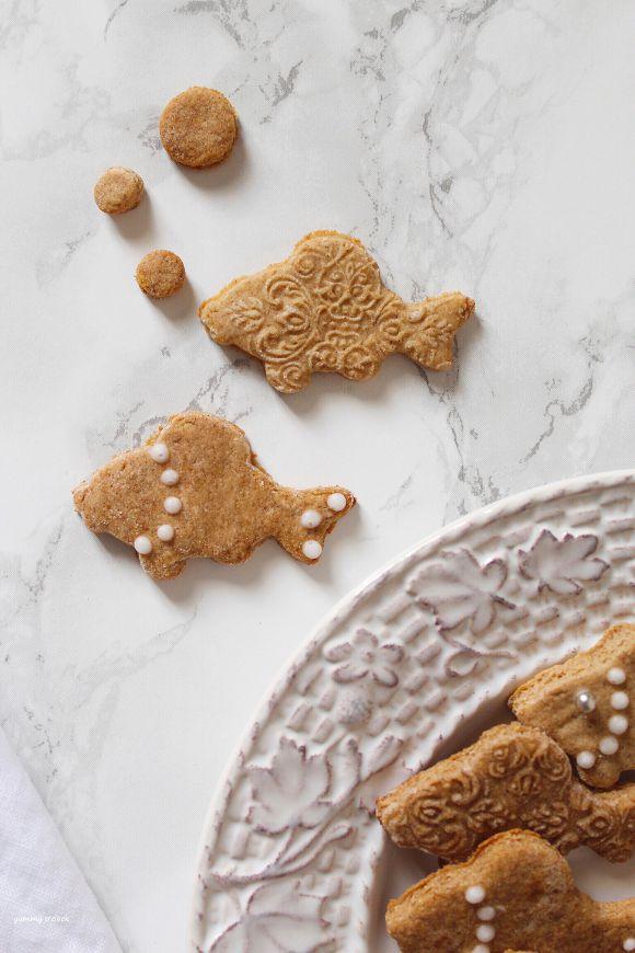 Biscotti pesciolini decorati