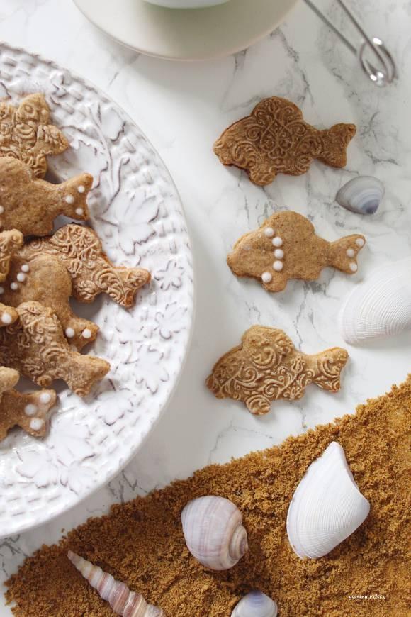 Biscotti pesciolini con farina semintegrale