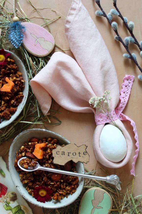 Granola alle carote homemade