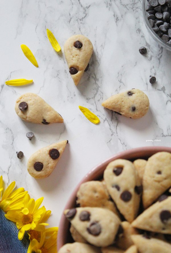 Mini gocciole ricetta