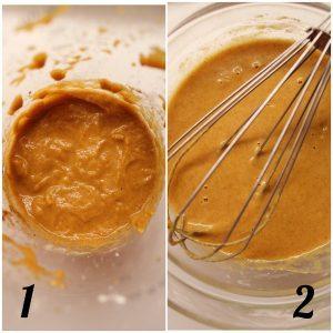 French toast con carote e latte vegetale senza uova procedimento