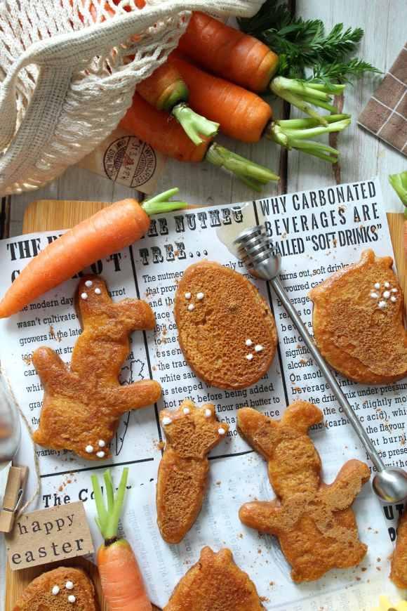 French toast alle carote con latte vegetale e spezie senza uova