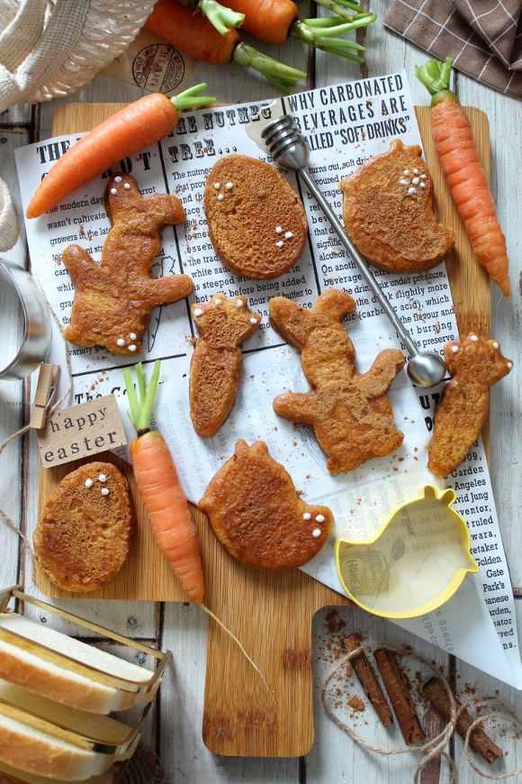 French toast alle carote senza uova