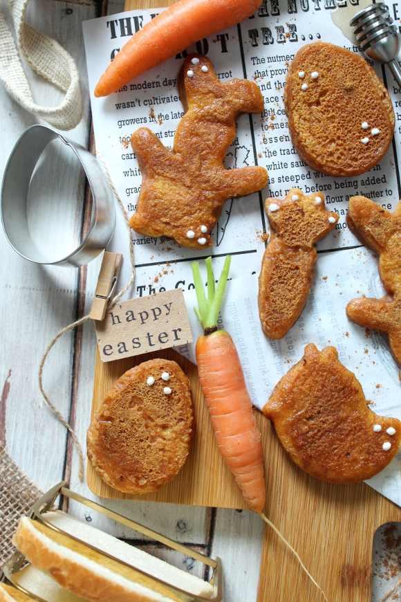 French toast alle carote con latte di soia senza uova