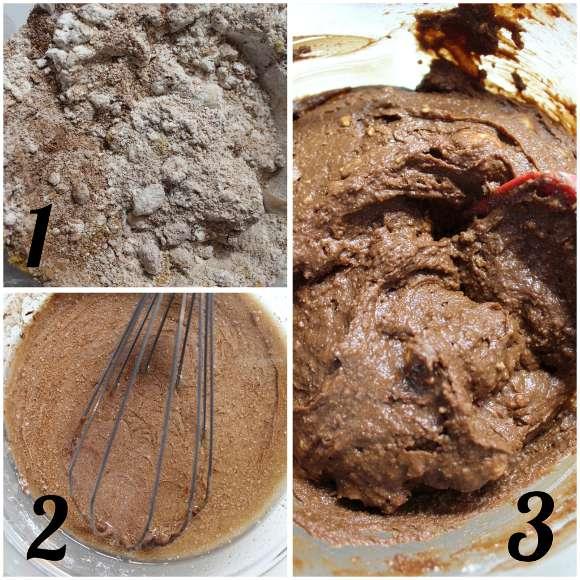procedimento Brownies con cioccolatini di Pasqua senza burro senza uova