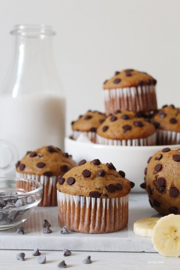 Muffin caffè e banana vegan