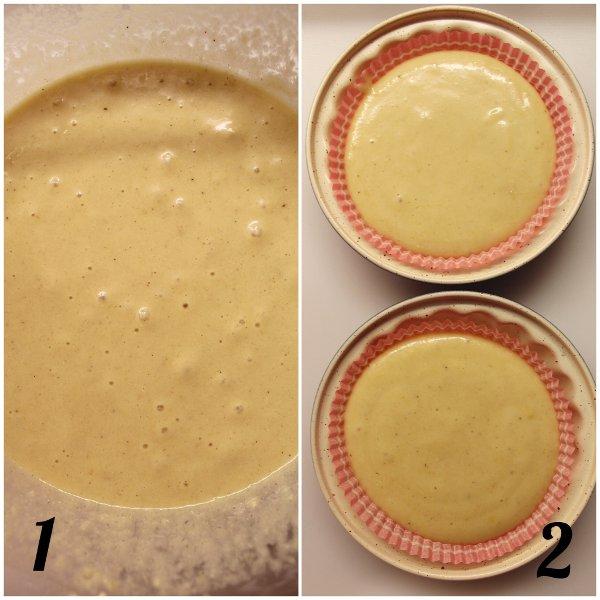Tortine al limone e mandorle senza glutine vegane preparazione