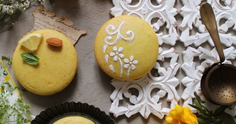 Tortine al limone e mandorle senza glutine vegane