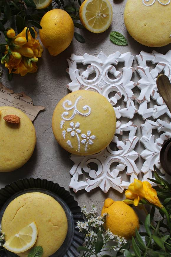 Tortine limone mandorle senza glutine vegane