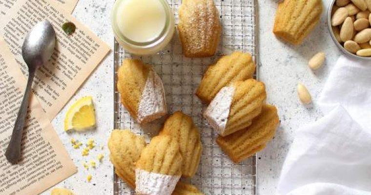 Madeleine al limone senza glutine e vegane
