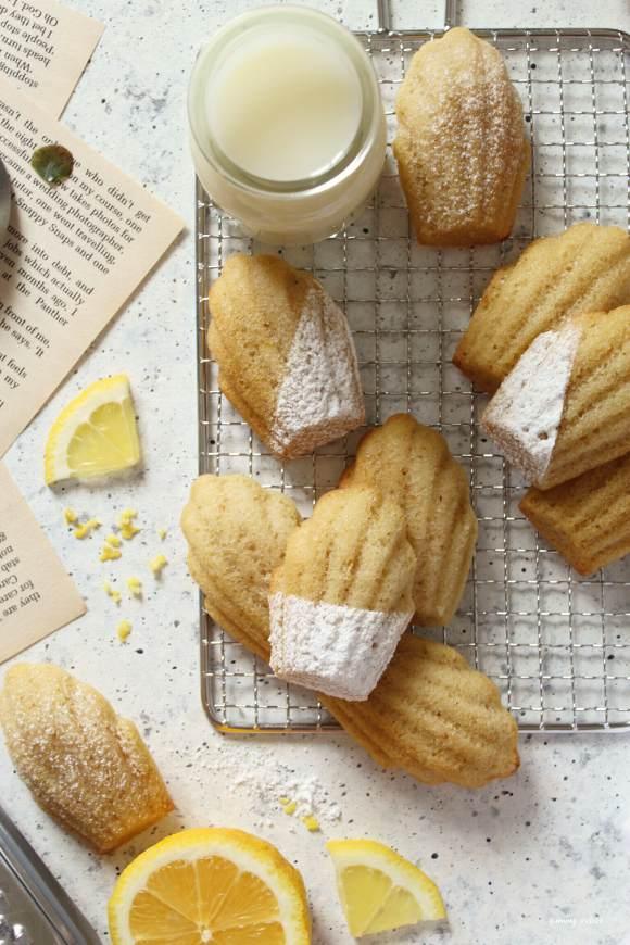 Madeleine con farina di mandorle senza glutine e vegane