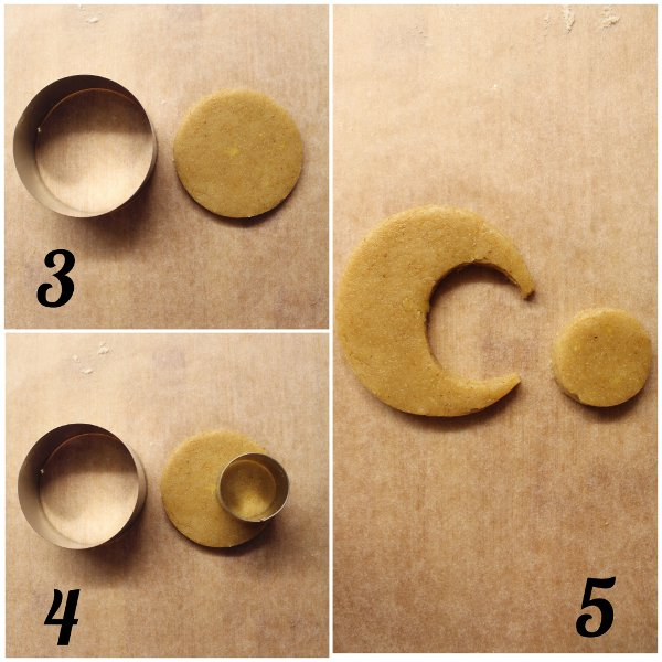 Biscotti a forma di luna senza uova senza burro procedimento