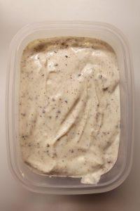 procedimento del Frozen yogurt stracciatella con formaggio spalmabile senza gelatiera