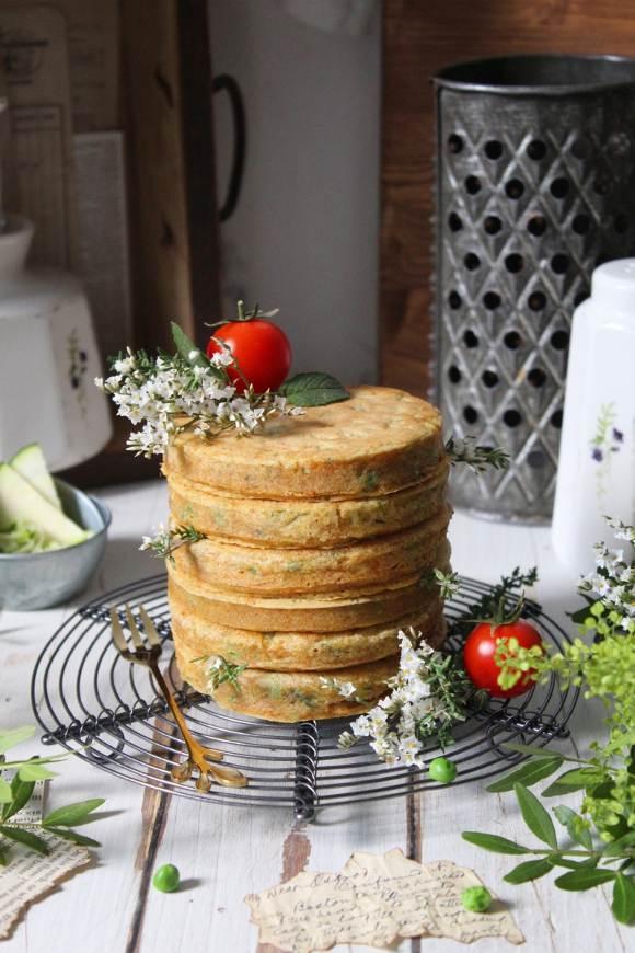 Pancakes salati vegan