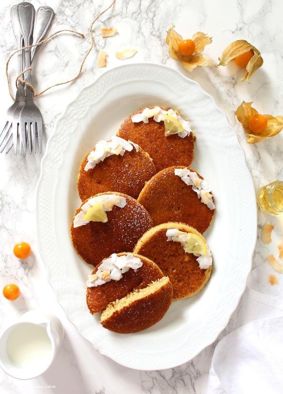 Pancakes senza glutine senza lattosio senza uova