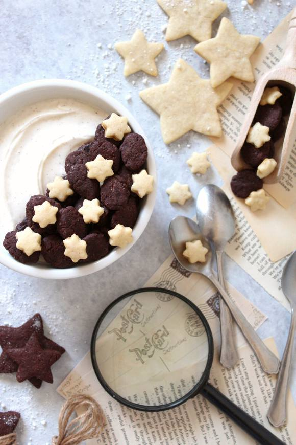 Cereali simil pan di stelle al cacao fatti in casa vegan