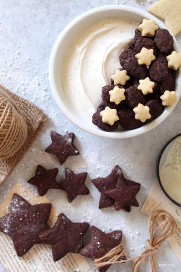 Cereali al cacao vegan simil pan di stelle fatti in casa