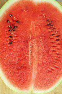 Cuori di anguria preparazione