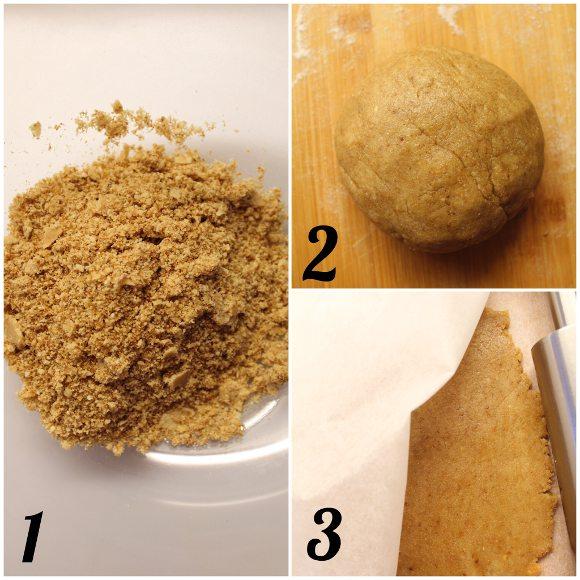 Biscotti nocciole miele e avena senza lattosio senza uova senza burro procedimento