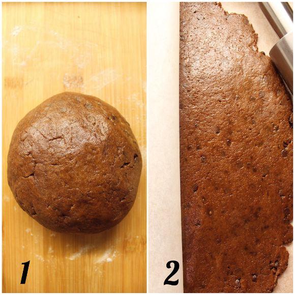 Biscotti simil gocciole extra dark senza burro fatti in casa preparazione