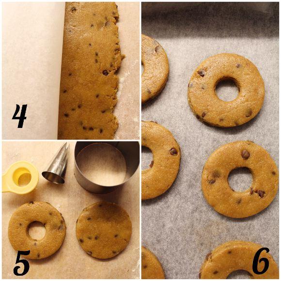 Biscotti alla zucca con gocce di cioccolato vegan procedimenti