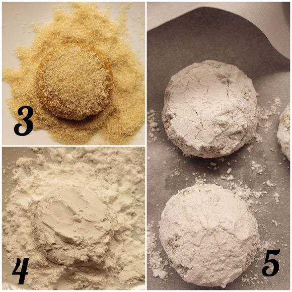 procedimento dei Crinkles alle patate dolci senza glutine e vegan