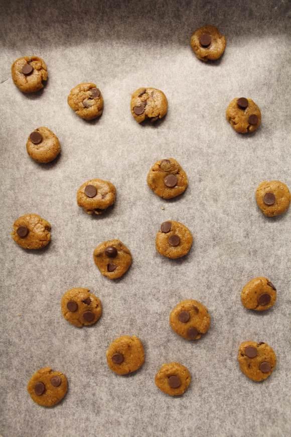 Cereali integrali cookies alla zucca vegan procedimento