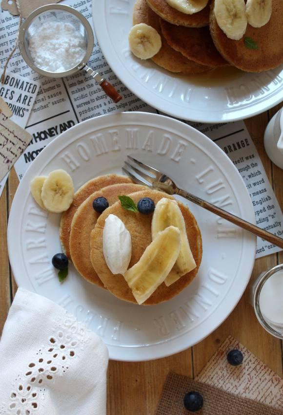 Pancakes allo yogurt greco
