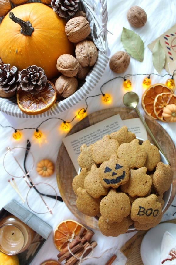 Cereali mini biscotti alla zucca pumpkin spice senza burro